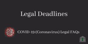 Legal Deadlines Blog Post Image