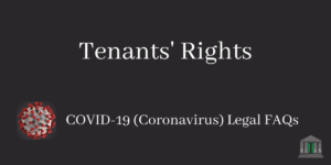 Tenants' Rights During the COVID-19 Crisis Blog Post Image
