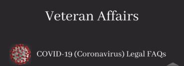 Veteran Affairs During Covid-19 Legal FAQ Blog Image